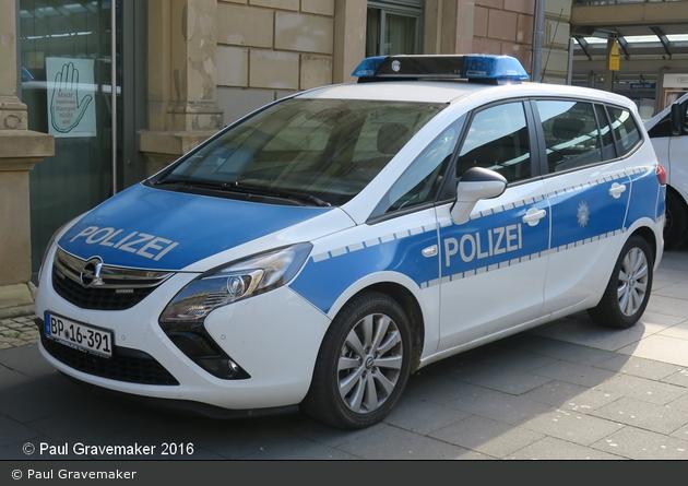 BP16-391 - Opel Zafira Tourer - FuStW
