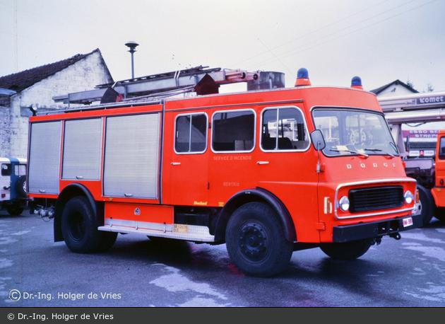 Bertrix - Service Régional d'Incendie - TLF (a.D.)