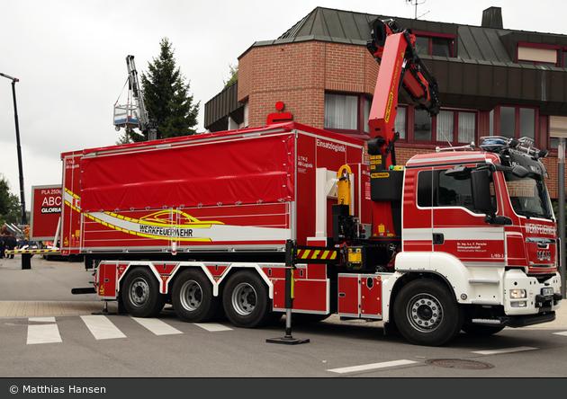 Einsatzfahrzeug: Florian Porsche Weissach 01/65-01 - BOS