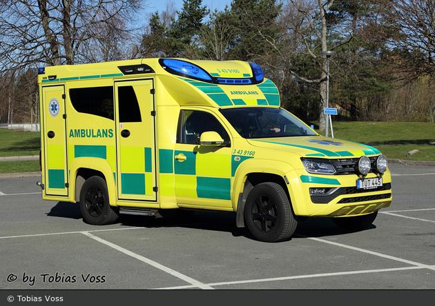 Jönköping - Ambulanssjukvård Jönköpings Län - Ambulans - 3 43-9160