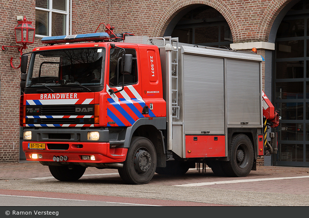 Eindhoven - Brandweer - RW-Kran - 22-5071