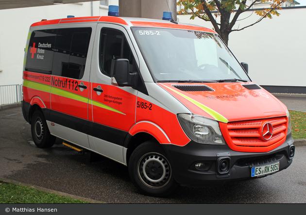 Rotkreuz Esslingen 05/85-02