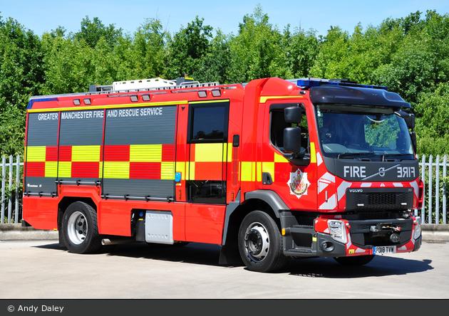 Ashton-under-Lyne - Greater Manchester Fire & Rescue Service - TRU