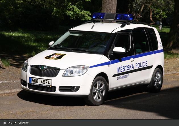 Litoměřice - Městská Policie - FuStW - 5U8 4574