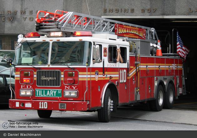 FDNY - Brooklyn - Ladder 110