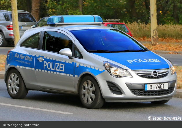 B-7401 - Opel Corsa D - FuStW