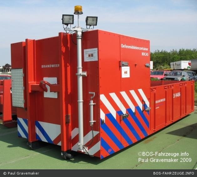 Amsterdam - Brandweer - AB-Übung - 13-9486