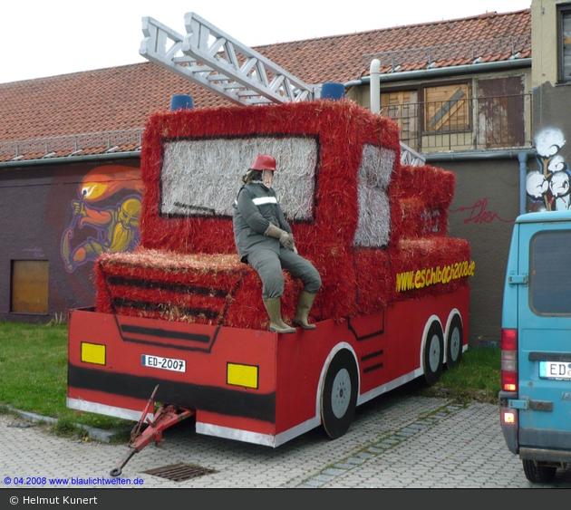Feuerwehr Eschlbach Strohauto
