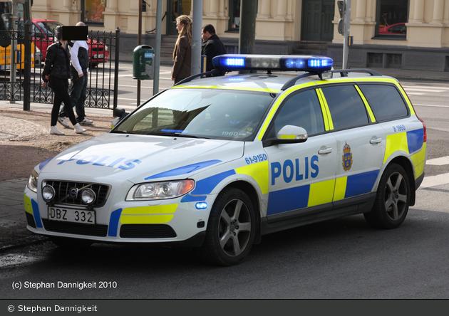 Malmö - Polis - FuStW - 1 61-9150