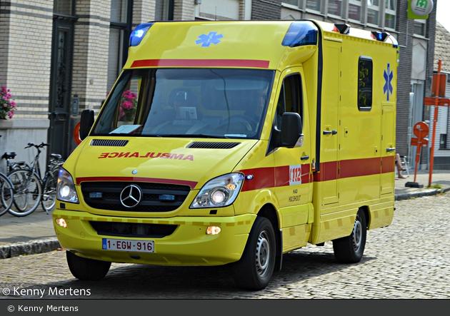 Hulshout - Hulshoutse Ambulancedienst - RTW