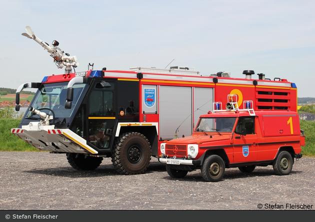 HE - Bundeswehr - Feuerwehr - Fritzlar - ELW+FlKfz Mittel