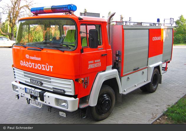Csókakő - Tűzoltóság - TLF 1800