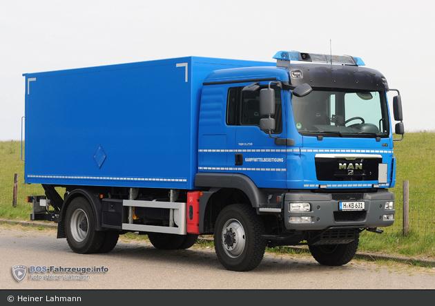 H-KB 631 - MAN TGM 13.250 - LKW KBD