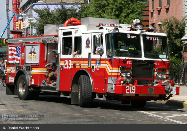 FDNY - Brooklyn - Engine 219 - TLF