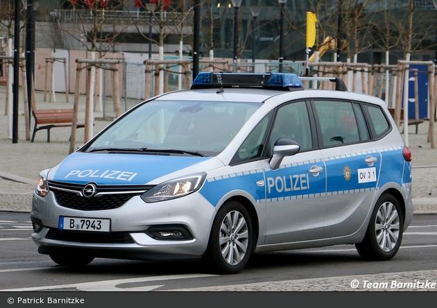 B-7934 - Opel Zafira - FuStW