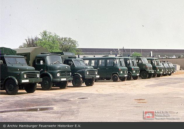 unbekannt - BGS - Fahrzeugpark (a.D.)