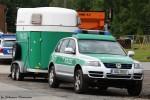 SN / Dresden - VW Touareg + Pferdetransportanhänger - Reiterstaffel