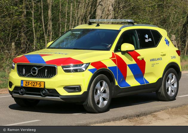Venlo - Veiligheidsregio - Geneeskundige Hulpverleningsorganisatie in de Regio - KdoW - 23-803