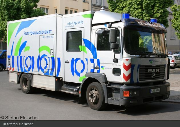Berlin - Berliner Wasserbetriebe - Entstörungsdienst (B-KR 5806)