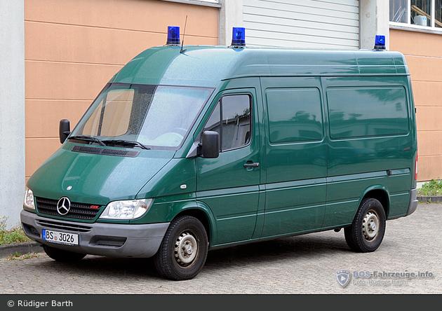 BS-3026 – MB Sprinter 313 CDI – Logistik-LKW