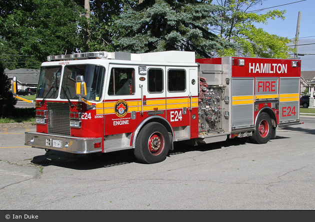 Hamilton - Fire Department - Engine 24