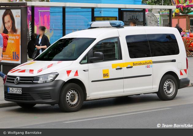 Berlin - Berliner Verkehrsbetriebe - Betriebsaufsicht (B-EV 1722)