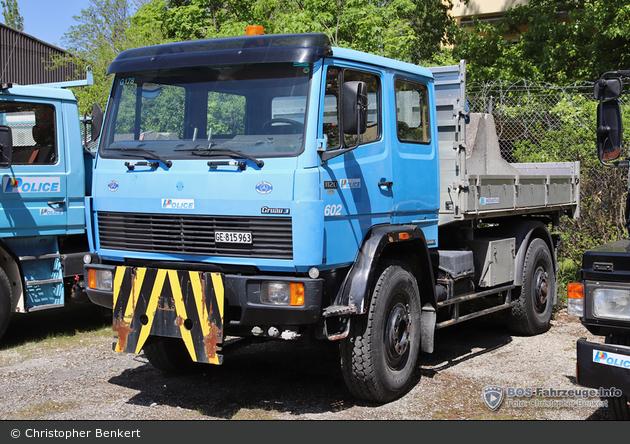 Genève - KaPo - LKW - 602