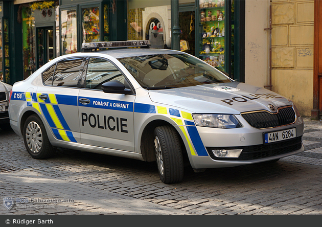 Praha - Policie - 4AN 6284 - FuStW