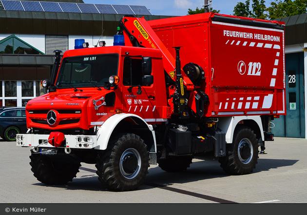 Einsatzfahrzeug Florian Heilbronn 01 51 01 Bos Fahrzeuge