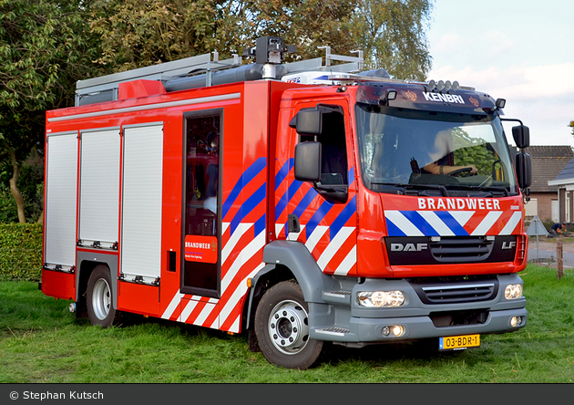 DAF FA LF55 - Kenbri Fire Fighting B.V. - HLF