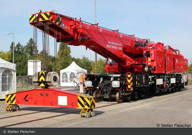 Fulda - Deutsche Bahn AG - Notfallkran KRC 1200