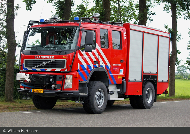 Leusden - Brandweer - HLF - 46-649