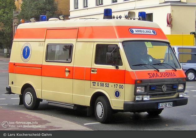 Krankentransport Schulten GmbH - KTW (a.D.)