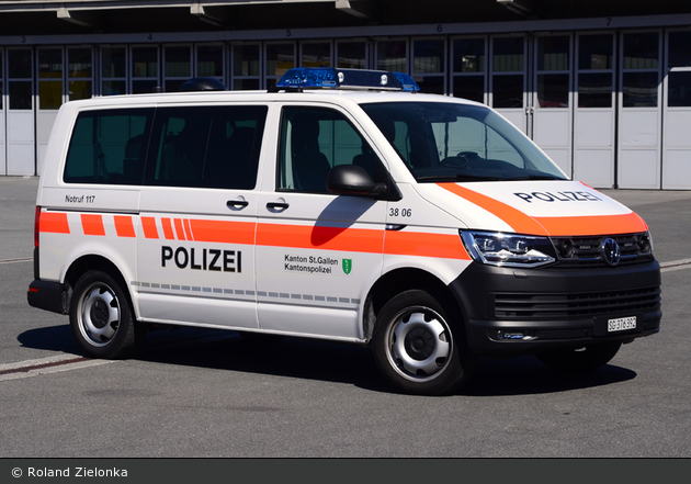 Mels - KaPo St. Gallen - HGruKw - 3806