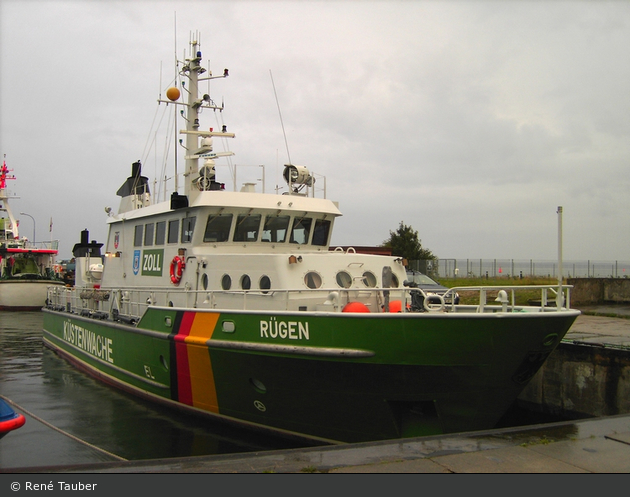 Zollboot Rügen - Sassnitz