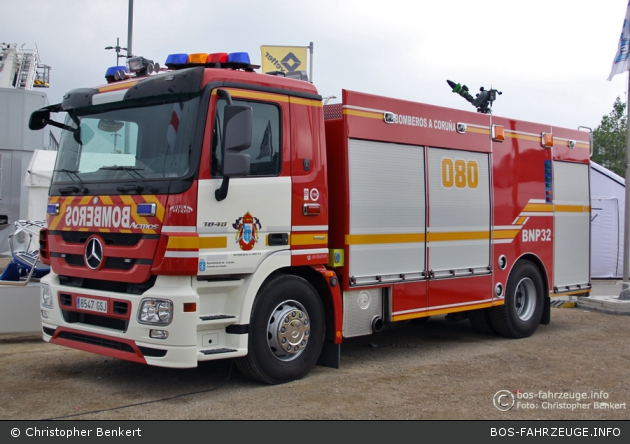 A Coruña - Bomberos - GTLF - BNP 32