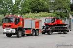 NI - Bundeswehr - Feuerwehr - Meppen - Gespann PTLF 4000 & Feuerlöschraupe