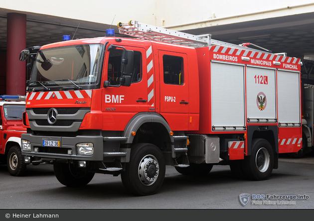 Funchal - Bombeiros Municipais - TLF - PSPU - 02