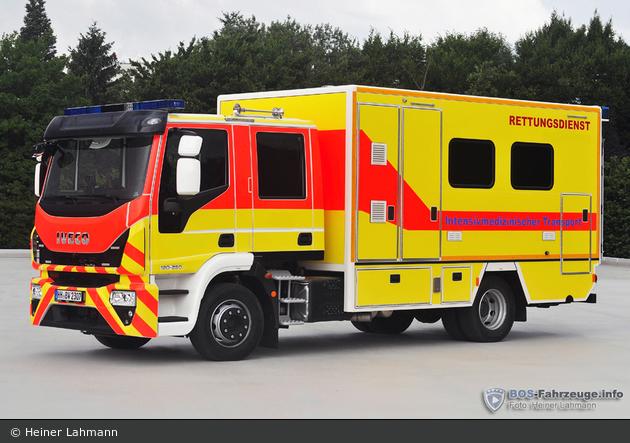 Iveco EuroCargo ML 120 E 25 D/P - Haas Vermietung von Sonderfahrzeugen - ITW