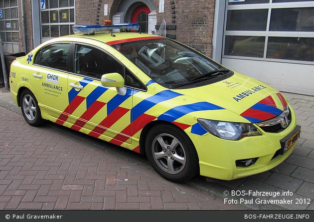 Amsterdam - GHOR - KdoW - 13-811 (a.D.)