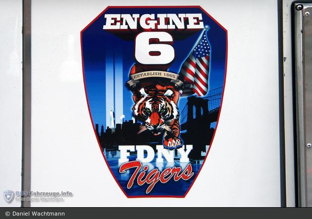 FDNY - Manhattan - Engine 006 - TLF