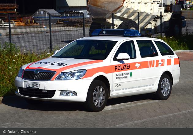 Wittenbach - KaPo St. Gallen - Patrouillenwagen - 2002