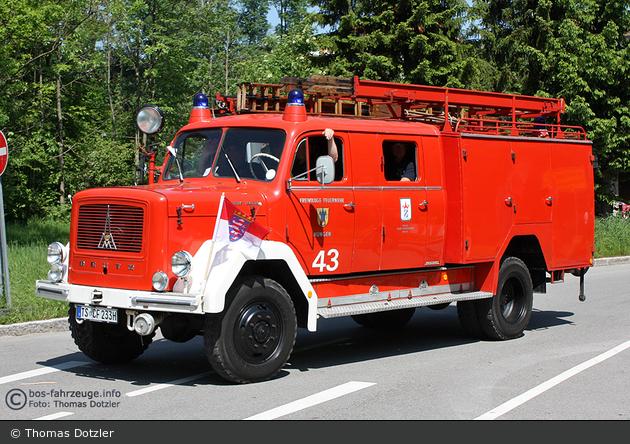Einsatzfahrzeug: Florian Hungen 43 (a.D.) - BOS-Fahrzeuge -  Einsatzfahrzeuge und Wachen weltweit