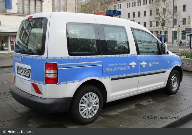 München - Münchner Verkehrsgesellschaft – Unfallhilfswagen