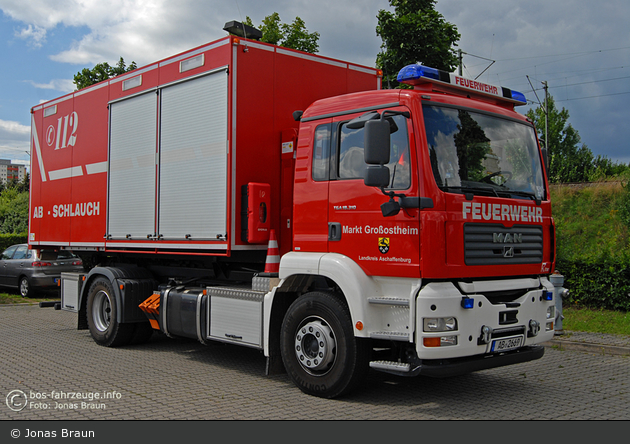 Einsatzfahrzeug Florian Großostheim 3501 Bos Fahrzeuge