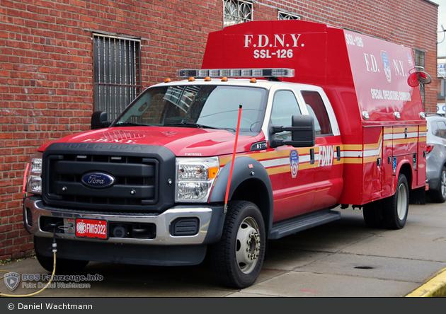 FDNY - Queens - SSL-126 - GW