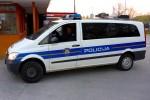 Šibenik - Policija - Kontrollstellenfahrzeug