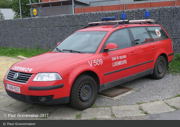 Marche-en-Famenne - Service Régional d'Incendie - PKW - V509