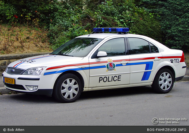AA 1269 - Police Grand-Ducale - FuStW