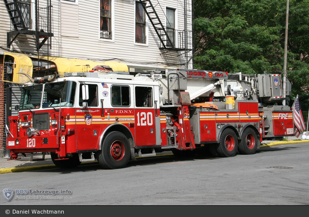 FDNY - Brooklyn - Ladder 120 - TM